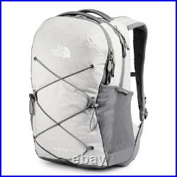 The North Face Women's Jester Backpack White Metallic Mélange Mid Grey