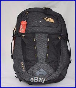 bdda4da13 The North Face Women's Recon Backpack in TNF Black 24K Gold NEW ...