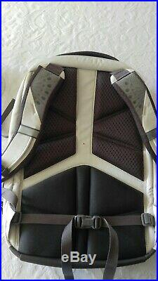 The North Face Women's Surge Laptop Backpack Vaporous Heather Grey Purple NWT