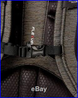 The North Face Women's Surge Luxe Backpack Black Brass Melange/2