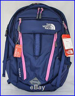 The North Face Women's Surge in Patriot Blue Rose Violet Pink NEW with Tags