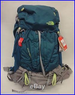 da69b6030 The North Face Womens Banchee 50 Backpack CJ6V Blue Coral/Green Sz M ...