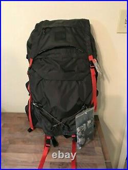 The North Face Womens Drift 65 Backpack M/L Asphalt Gray Print NWT