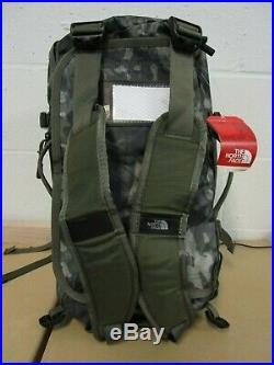 The North Face XS Basecamp Duffel Packable Travel Suitcase Backpack Bag Camo