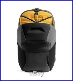 The North FaceAccess 02 hard body frame backpack matte black heather gray