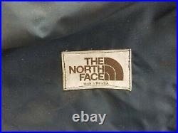 Vintage The NORTH FACE External Frame Hiking Pack Backpack Brown Label
