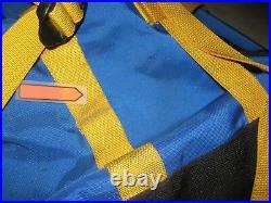 Vintage The North Face Expedition Internal Frame Blue Hiking Backpack USED Reg