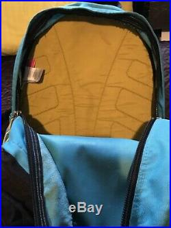 Vtg North Face Trans Antarctica Expedition 1990 Aqua teal BackpackBookbag
