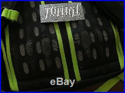 Vtg The North Face X Big Foot One Hot Shot Backpack Black Green Asia Release