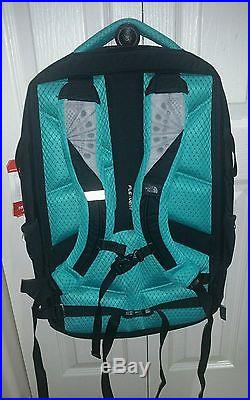 Women's THE NORTH FACE RECON Day pack 31L Backpack (Black/Violet/Green)